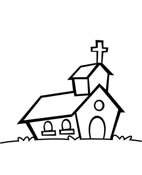 Igreja Desenhos Para Colorir 2 Gif Paginas De Colorir Da Biblia