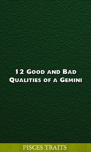 12 Good And Bad Qualities Of A Gemini Gemini Astrology Facts Horoscope