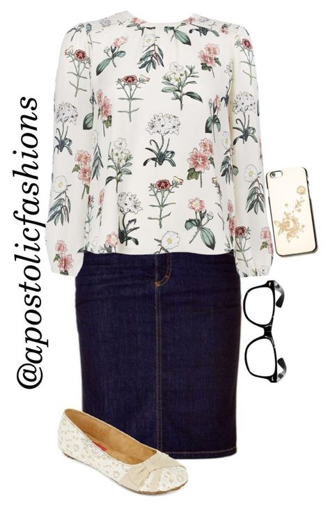"""""""Apostolic Fashions #1121"""" by apostolicfashions ❤ liked on Polyvore featuring Free People and POP"""