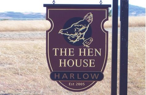 the hen house property sign danthonia designs antique signs rh pinterest ca