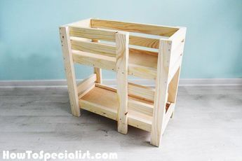 How To Build A Doll Bunk Bed Free 18 Doll Bed Plans With Images