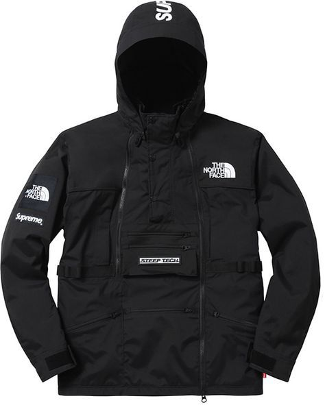 Supreme X The North Face Steep Tech Hooded Jacket Supreme Clothing North Face Jacket Tech Hoodie