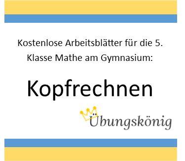 Groß Klasse 6 Mathematik Arbeitsblatt Galerie - Mathematik ...