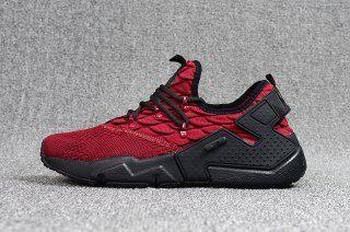Advanced Nike Air Huarache Pu Material White Red 875841 116 Women s Men s  Footwear Running Shoes  429ea35c4
