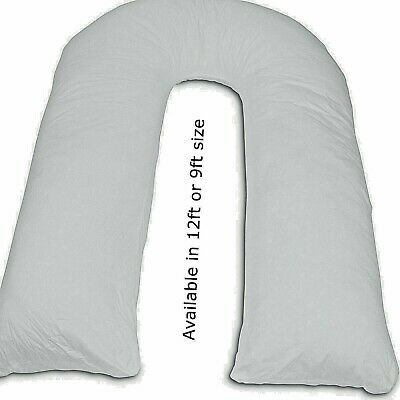 Luxury Orthopaedic Duck Feather /& Down Pillow For V Shape//Nursing//Maternity//Pregnancy