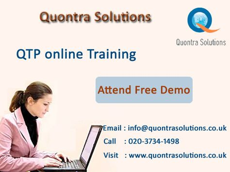 h2kinfosys is offering QTP Automation Testing Online Training - qtp resume