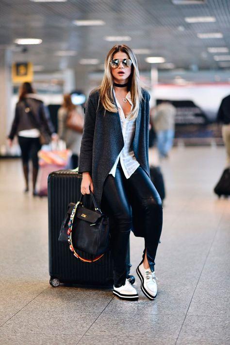 Airport Looks das Celebs: edição inverno