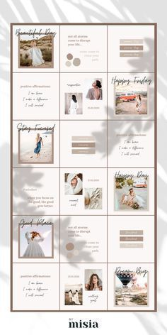 Business Ideas For Women Discover Instagram Puzzle Template For Canva Instagram Template Instagram Template Design Instagram Feed Layout Instagram Template