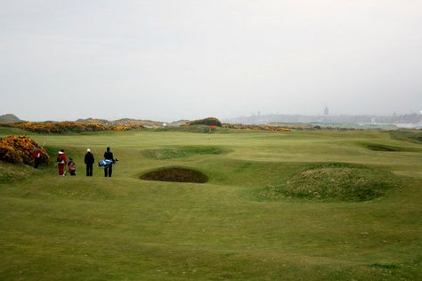 i would love to golf at the old course at st. andrews, scotland.