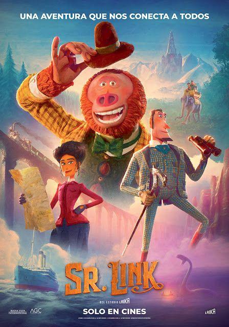 Señor Link Mira El Trailer De Esta Película Animada En Stop Motion Missing Link Free Movies Online Full Movies