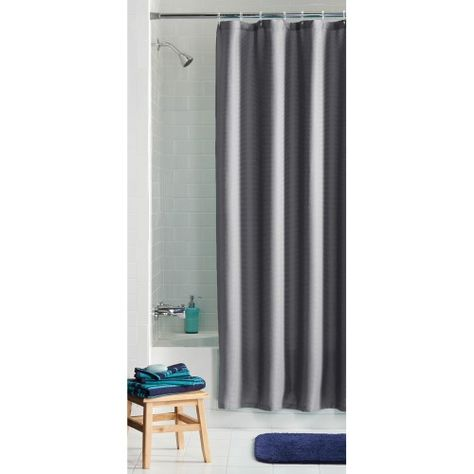 The Mainstays Waffle Fabric Shower Curtain Collection Can Help To Create A Soft And Welcoming Effect In Your Bathroom Space It Offers Soothing Spa Feel