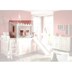 Halbhochbetten Halbhohe Betten Kinderbett Mit Rutsche Bett
