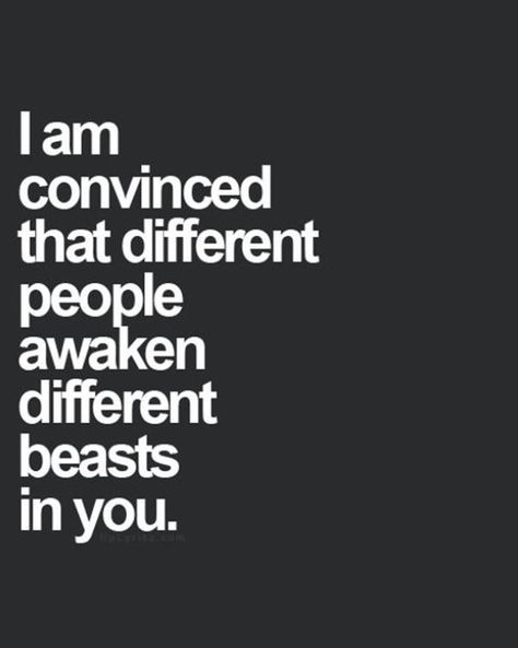 Different people.