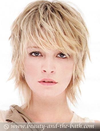 Layeredhair Short Thin Hair Short Hair With Layers Medium Hair Styles