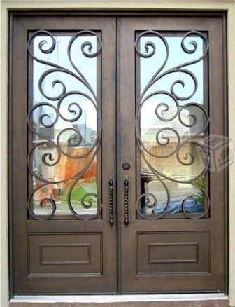 Puertas residenciales de herreria