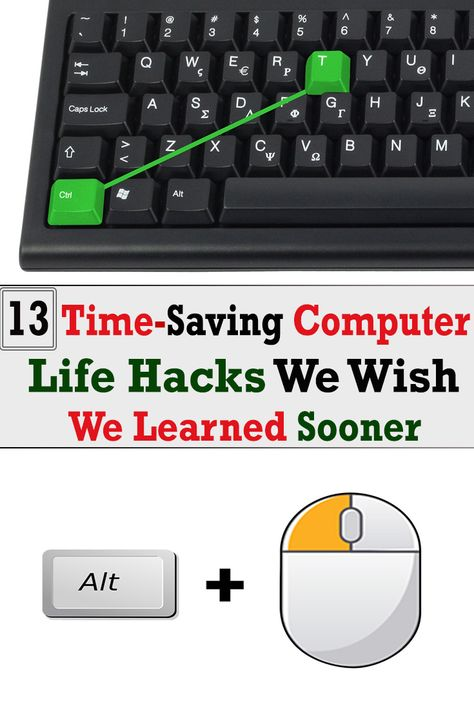 13 Time-Saving Computer Life Hacks We Wish We Learned Sooner