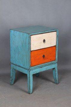 2Dw Bedside-Hanfurs Furniture