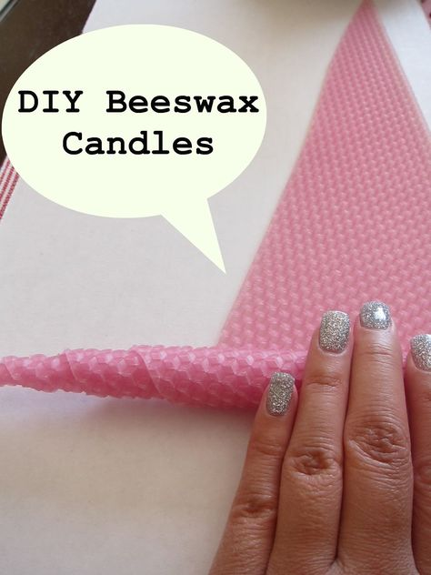 ECOMONSTER: DIY Beeswax Candles