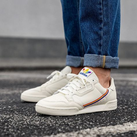 adidas Originals Continental 80 Pride in weiss - EF2318 in ...