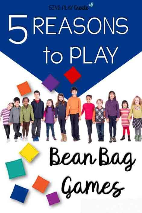Five Reasons to Play Bean Bag Games | piano teaching | Music