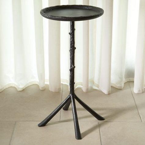 Mini Twig Iron Table In Black Furniture Pinterest And Cabin