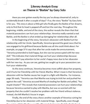 Literary Analysis Essay Mentor Text Pack Mentor Texts Literary
