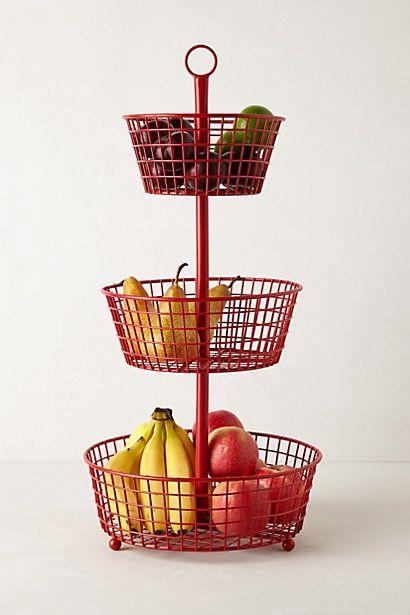 Tureen Trio Basket Stand #anthropologie