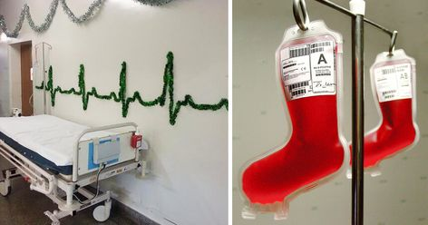 30 Hospital Christmas Decorations That Show Medical Staff Are The Most Creative People Ever Office Christmas Decorations Holiday Door Decorations Christmas Door Decorating Contest