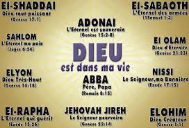 Saviez Vous Que L On Recence Plus D Une Vingtaine De Noms De Dieu Dans La Bible Chacun D Eux Est Utilise Pour Decrire Les Noms De Dieu Dieu Cahiers De Priere