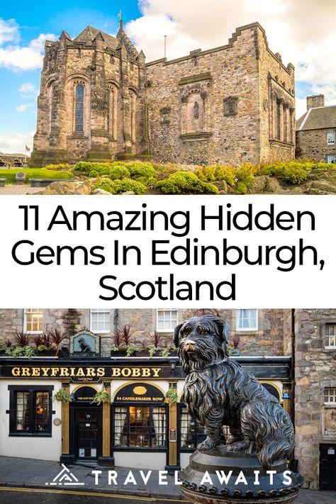 11 Amazing Hidden Gems In Edinburgh, Scotland - TravelAwaits Scotland Road Trip, Scotland Vacation, Scotland Travel, Ireland Travel, Travel Uk, Perth Scotland, Scotland Tours, Scotland History, Glasgow Scotland