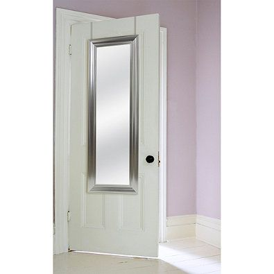mirror in a can. this over the door mirror can accent any or hang on wall · view in a