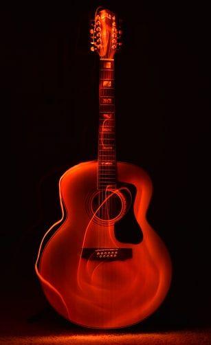 Orange Guitar Wallpaper Photo Free Guitar Image On Unsplash Guitar Images Guitar Music Guitar Classical guitar wallpaper hd