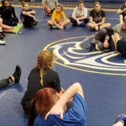 Farragut hosts womens wrestling winter camp