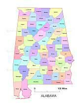 Alabama State Map By County.9 Best Alabama Maps Images Alabama Free Maps State Map