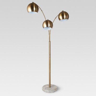 Span 3 Head Metal Globe Floor Lamp Project 62 Target