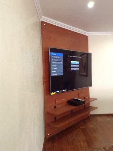 Oculta Cables Panel Tv Primer Centro De Entretenimiento