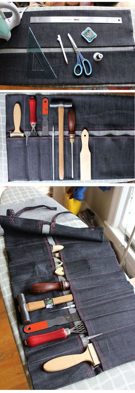 How To Make A Tool Roll Diy Instructables Httpinstructables