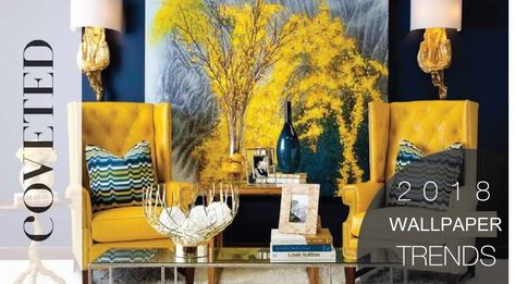 🔥Top #Wallpaper #Trends In #Kenya to Watch Out for in 2018 #interior_decor 2018's wallpaper trends Kenya have got us excited about #covering our #walls.😍 we've rounded up the top #styles to expect in the next few months.