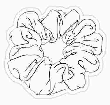 Coloring Sheet Vsco White Scrunchie Sticker Products In 2019 Aesthetic 165835 Black And White Stickers Aesthetic Stickers Black Stickers