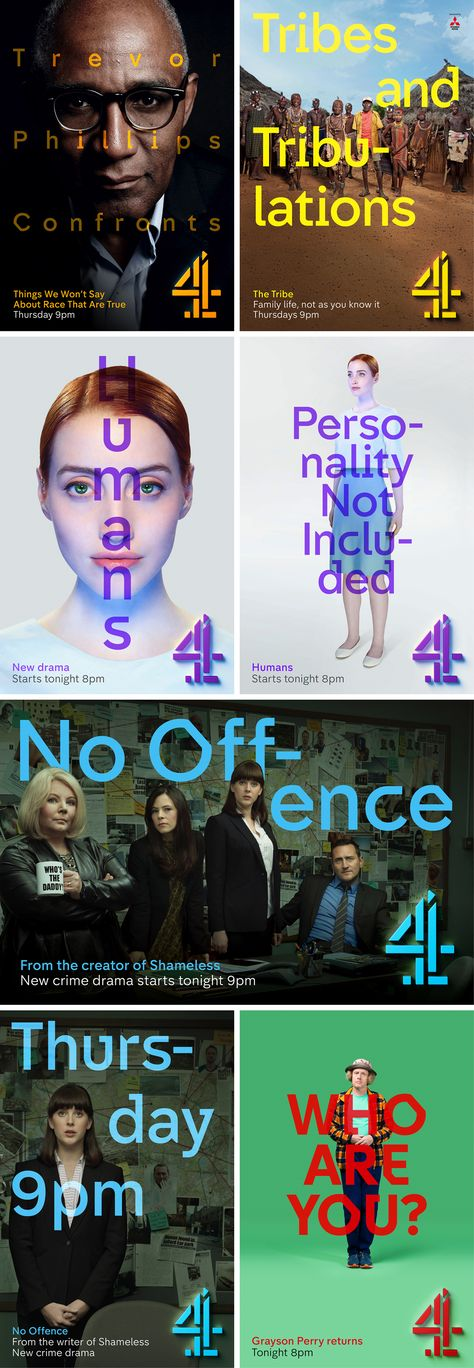 Channel 4 rebrands, with help from Jonathan Glazer and Neville Brody