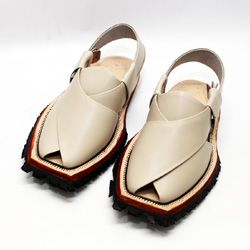 Hand Crafted Quetta Norozi Shikari Chappal With Double Sole Fall Fashion Shoes Leather Sandals Handmade Best Shoes For Men