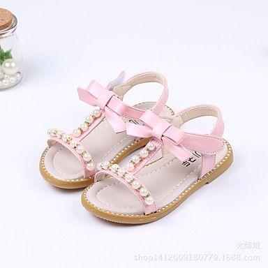 Summer Fashion Kids bébé fille enfant Lovely Crystal Sandales de plage Princesse Chaussures