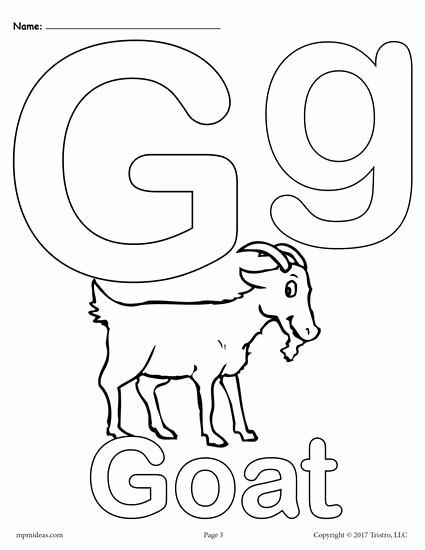 Alphabet Coloring Pages Printable Free Awesome Letter G Alphabet