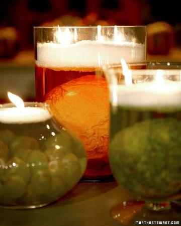 Halloween Decor: Specimen Jar Candles