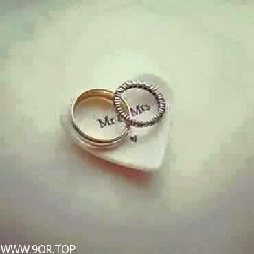 رمزيات خطوبه انستقرام Curved Wedding Band Sapphire Engagement Ring Set Heart Wedding Rings