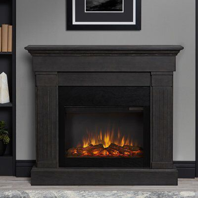 Crawford Electric Fireplace Electric Fireplace Grey Fireplace Fireplace