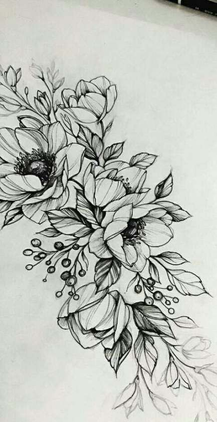 Flowers drawing doodles shape 21+ ideas #drawing #flowers