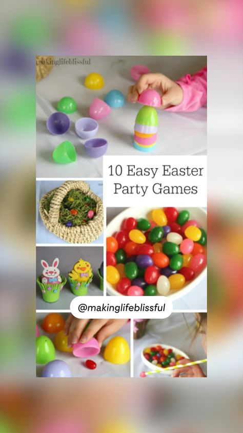 10 Easy Easter Games