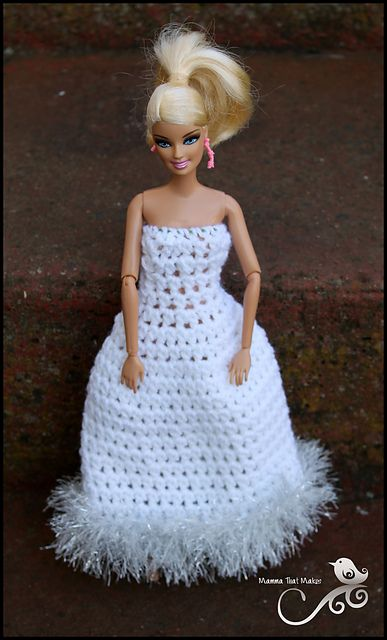 List Of Pinterest Barbie Clothes Knitted Ball Gowns Images Barbie