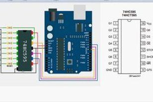 Arduino Real Time Clock With Large 7 Segment Displays Real Time Clock Arduino Shift Register